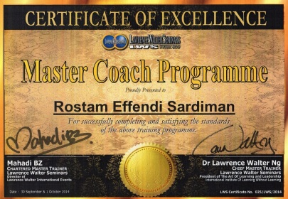 Certification by Dr. Lawrence